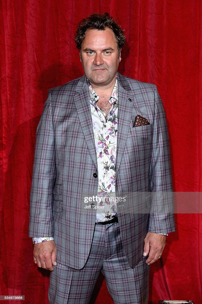 Andrew Greenough attends the British Soap Awards 2016 at Hackney Empire on May 28, 2016 in London, England.