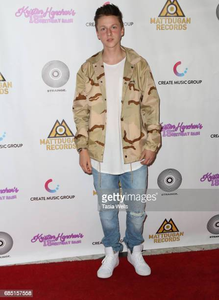 Andrew Gregory attends social media star Kristen Hancher's Big 18th Birthday Bash at Bootsy Bellows on May 18 2017 in West Hollywood California