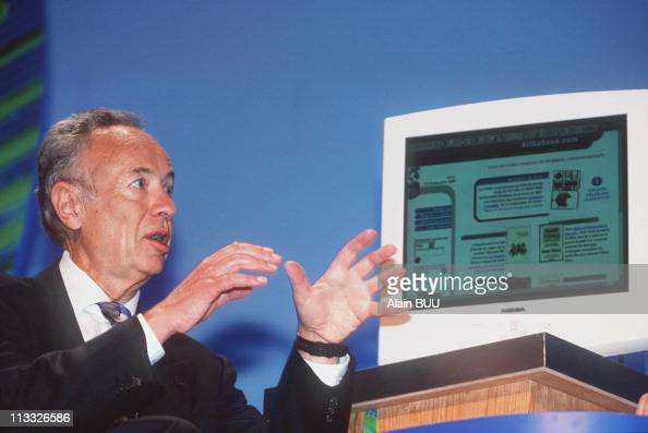 Andrew Grove Head And Founder Of Intel On September 23rd 1999 In ParisFrance