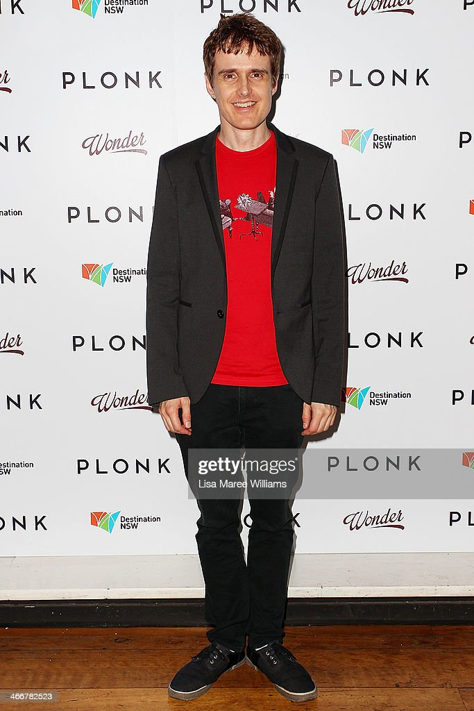 Andrew Hansen arrives at the PLONK media launch at Palace Verona on February 4, 2014 in Sydney, Australia.