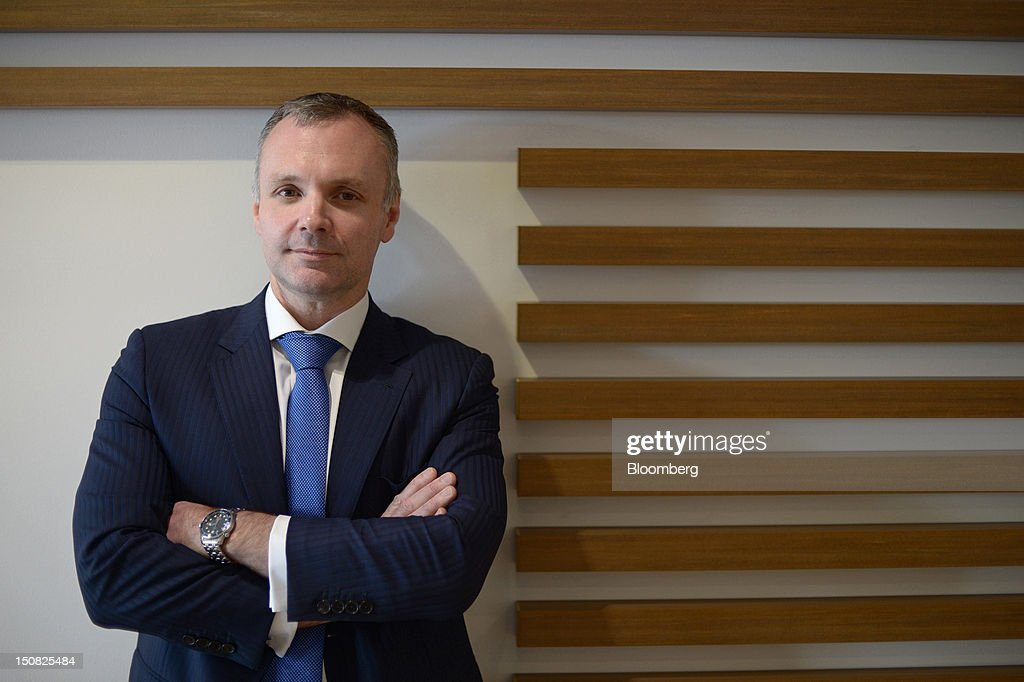 Andrew Harding, chief executive officer of Rio Tinto Group's copper unit, poses for a photograph at the company's Northparkes copper and gold operations in Parkes, New South Wales, Australia, on Friday, Aug. 24, 2012. Northparkes last year produced 50,000 tons of copper. Rio owns 80 percent of the operation and Sumitomo Corp., the remainder. Photographer: Carla Gottgens/Bloomberg via Getty Images