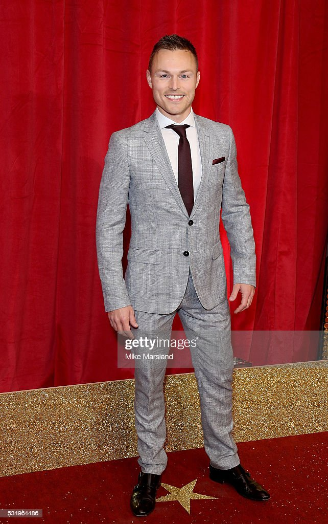 Andrew Hayden Smith attends the British Soap Awards 2016 at Hackney Empire on May 28, 2016 in London, England.