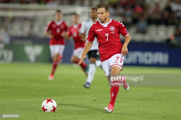 Andrew Hjulsager during the UEFA European Under21 Championship Group C match between Germany and Denmark at Krakow Stadium on June 21 2017 in Krakow...