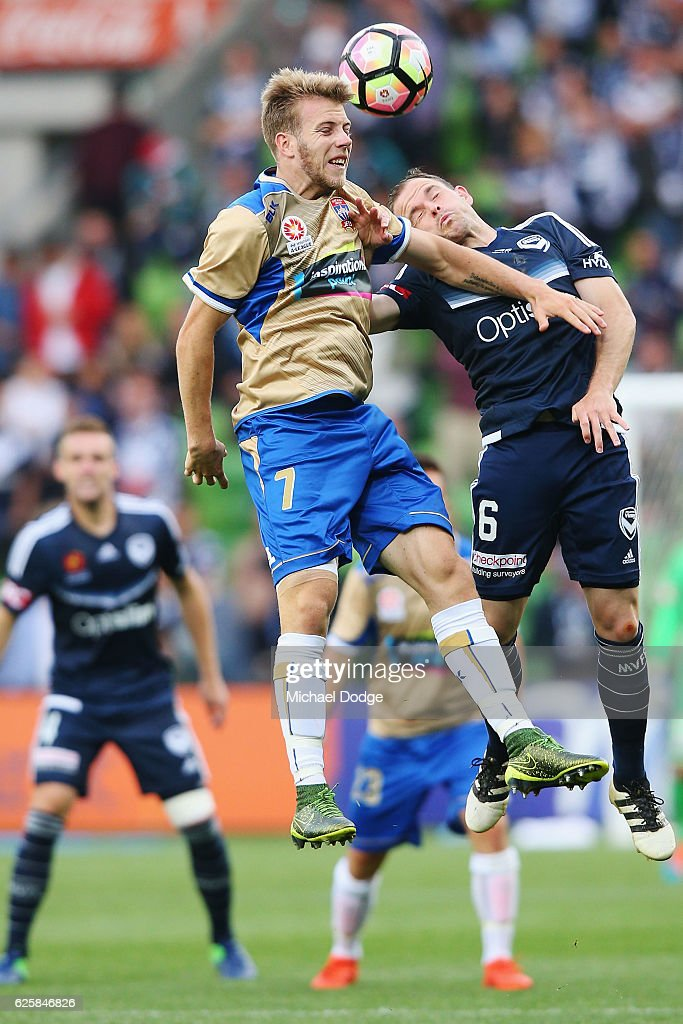 A-League Rd 8 - Melbourne v Newcastle