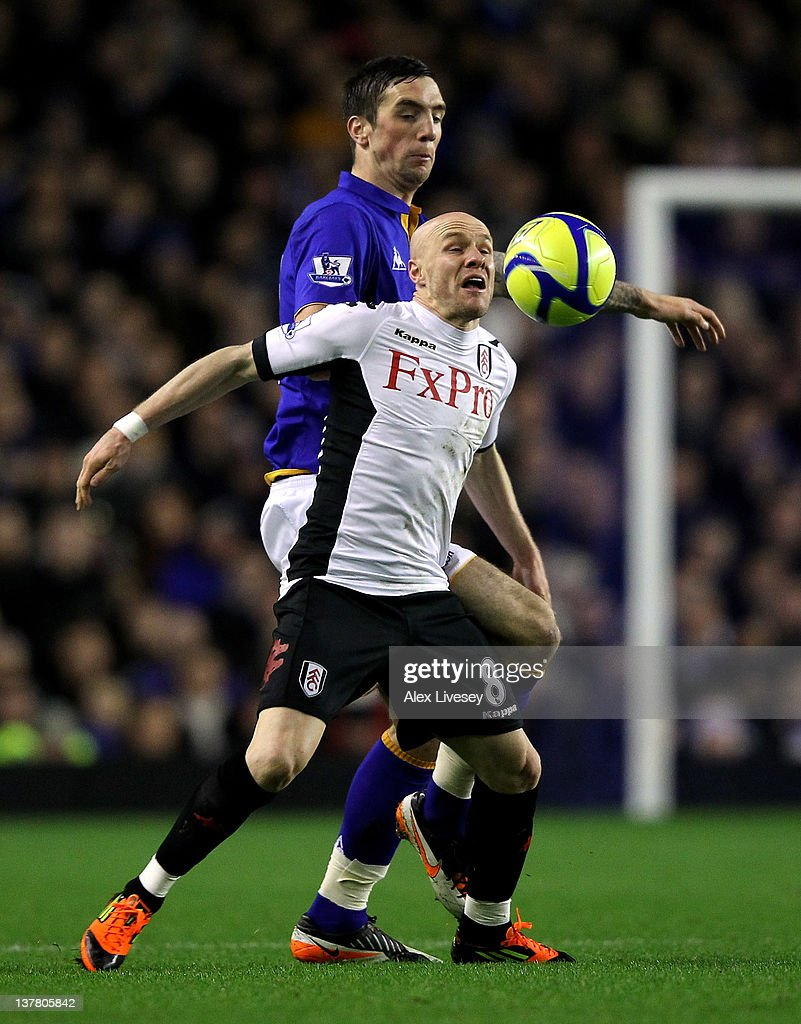 <a gi-track='captionPersonalityLinkClicked' href=/galleries/search?phrase=Andrew+Johnson+-+Striker&family=editorial&specificpeople=95851 ng-click='$event.stopPropagation()'>Andrew Johnson</a> of Fulham battles for the ball with Shane Duffy of Everton during the FA Cup Fourth Round match between Everton and Fulham at Goodison Park on January 27, 2012 in Liverpool, England.
