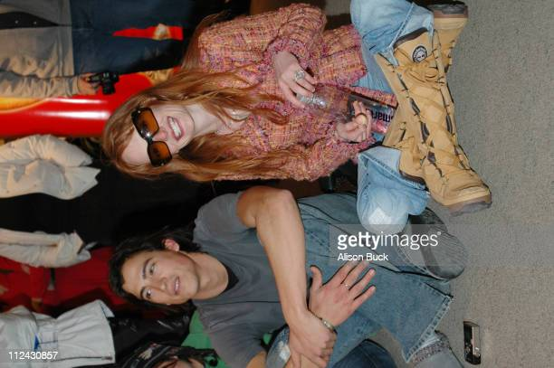 Andrew Keegan and Daisy McCrackin during 2005 Sundance Film Festival Universal Studios at Images of Nature in Park City Utah United States