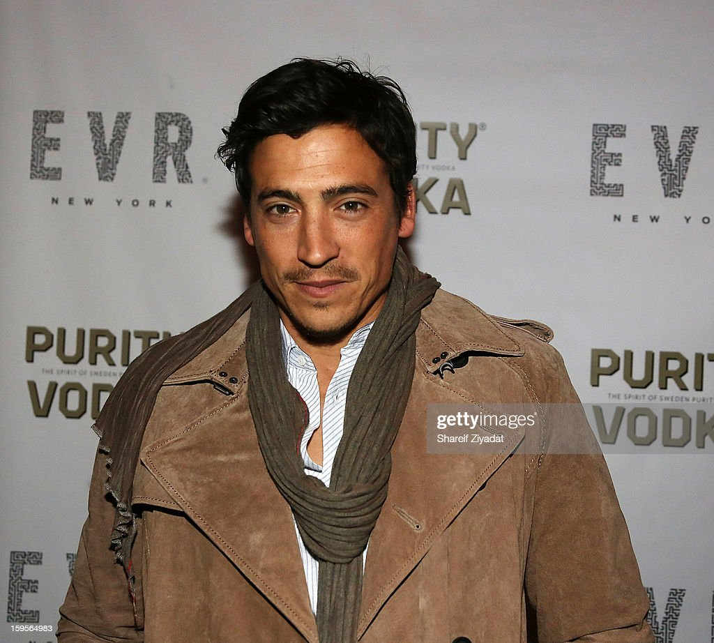 Andrew Keegan attends the opening of EVR 54 on January 15, 2013 in New York City.
