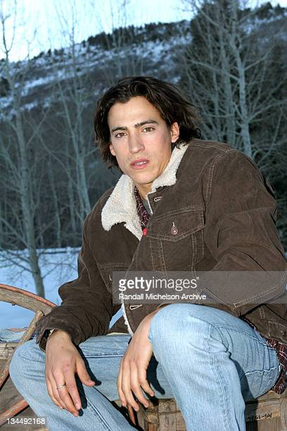 Andrew Keegan during 2005 Sundance Film Festival Andrew Keegan Outdoor Portraits at Park City in Park City Utah United States