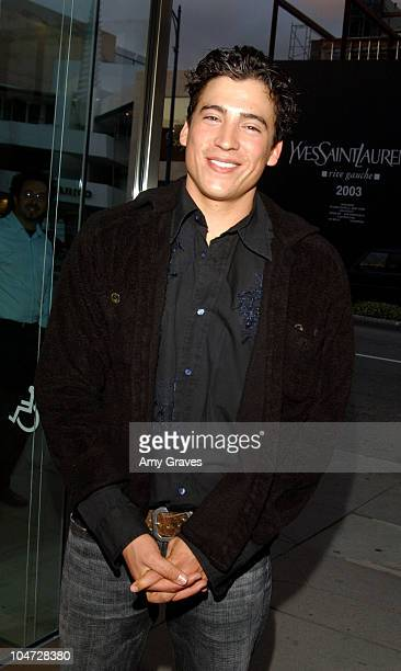 Andrew Keegan during Max Mara and Vanity Fair VIP Reception To Benefit The Fulfillment Fund at Max Mara Store in Beverly Hills California United...