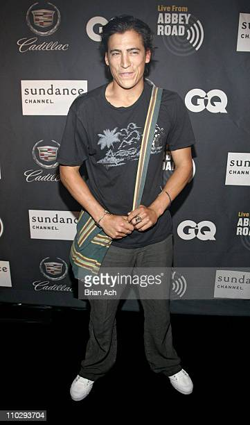 Andrew Keegan during Sundance Channel's 'Live from Abbey Road' Launch Party at Daryl Roth Theatre in New York City New York United States