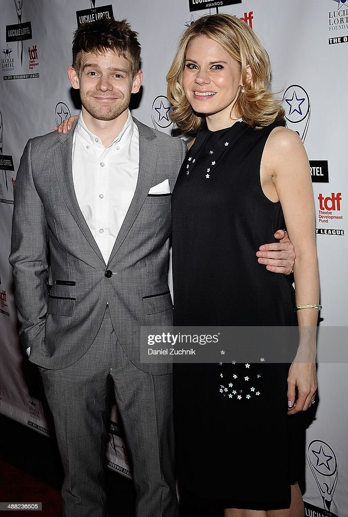 Andrew Keenan-Bolger and <a gi-track='captionPersonalityLinkClicked' href=/galleries/search?phrase=Celia+Keenan-Bolger&family=editorial&specificpeople=2300337 ng-click='$event.stopPropagation()'>Celia Keenan-Bolger</a> attend the 29th Annual Lucille Lortel Awards at NYU Skirball Center on May 4, 2014 in New York City.