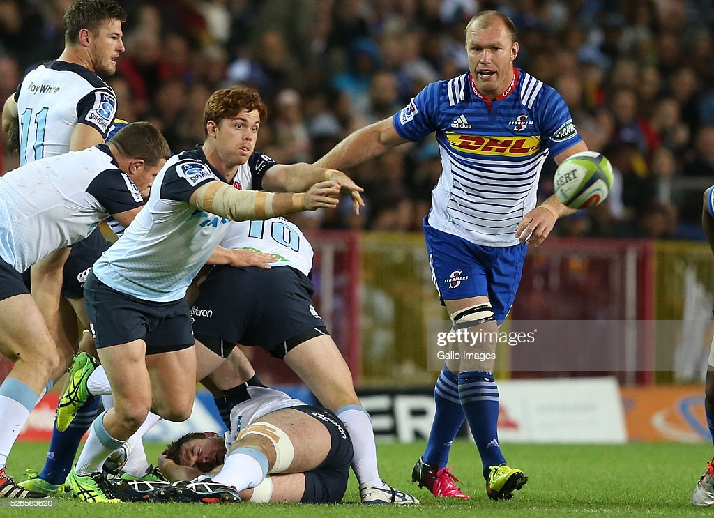 Andrew Kellaway of Waratahs during the Super Rugby match between DHL Stormers and Waratahs at DHL Newlands Stadium on April 30, 2016 in Cape Town, South Africa.