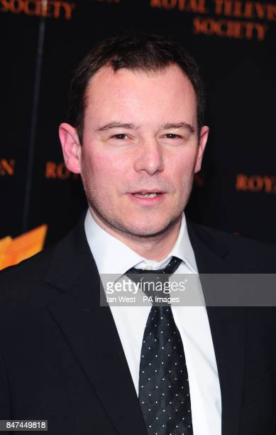 Andrew Lancel arrives at the Royal Television Society's RTS Programme Awards at the Grosvenor House Hotel in London