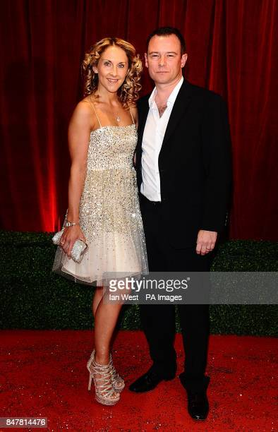 Andrew Lancel arriving for the 2012 British Soap Awards at ITV London Studios South Bank London