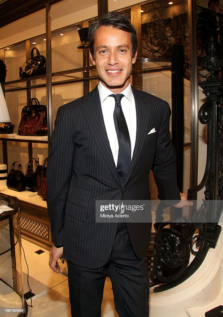 Andrew Lauren attends Ralph Lauren Presents Exclusive Screening Of Hitchcock's To Catch A Thief Celebrating The Princess Grace Foundation at Ralph Lauren Women's Store on October 28, 2013 in New York City.