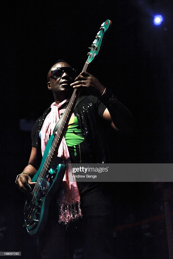 Andrew Levy of The Brand New Heavies performs on stage at HMV Ritz on December 9, 2012 in Manchester, England.