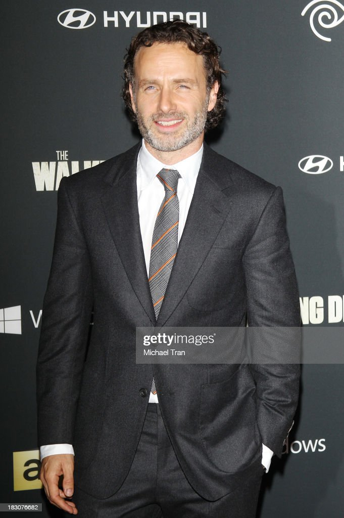 Andrew Lincoln arrives at the Los Angeles premiere of AMC's 'The Walking Dead' 4th season held at Universal CityWalk on October 3, 2013 in Universal City, California.