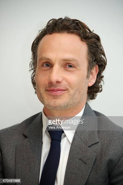 Andrew Lincoln at 'The Walking Dead' Press Conference at the Four Seasons Hotel on April 20 2015 in Beverly Hills California