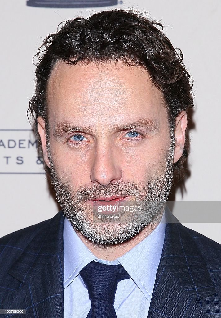 Andrew Lincoln attends an evening with 'The Walking Dead' presented by The Academy Of Television Arts & Sciences at Leonard H. Goldenson Theatre on February 5, 2013 in North Hollywood, California.