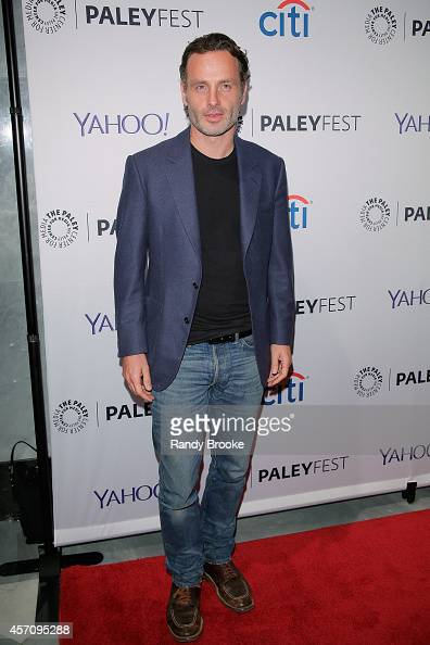 Andrew Lincoln attends the 2nd Annual Paleyfest New York Presents 'The Walking Dead at Paley Center For Media on October 11 2014 in New York New York