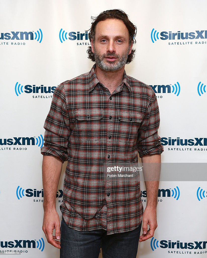 <a gi-track='captionPersonalityLinkClicked' href=/galleries/search?phrase=Andrew+Lincoln&family=editorial&specificpeople=216410 ng-click='$event.stopPropagation()'>Andrew Lincoln</a> visits at SiriusXM Studios on October 10, 2013 in New York City.