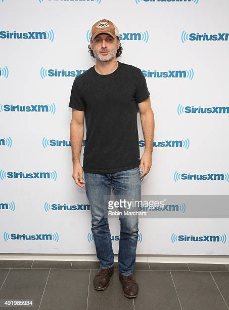 Andrew Lincoln visits at SiriusXM Studios on October 9 2015 in New York City