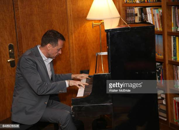 Andrew Lippa attends the Dramatists Guild Fund Salon With Rick Elice at the Cornell Club on March 6 2017 in New York City