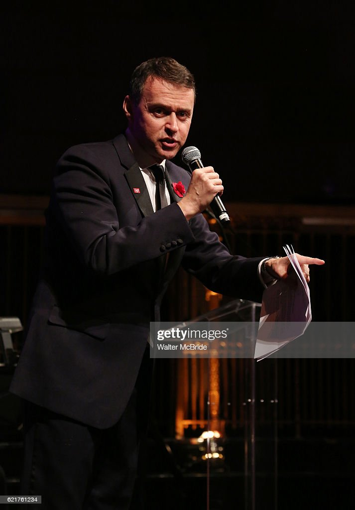 Andrew Lippa during the Dramatists Guild Fund Gala 'Great Writers Thank Their Lucky Stars : The Presidential Edition' presentation at Gotham Hall on November 7, 2016 in New York City.