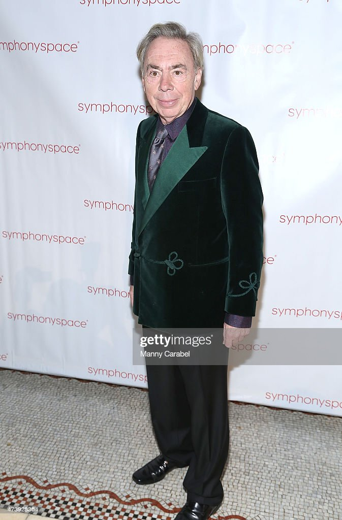 <a gi-track='captionPersonalityLinkClicked' href=/galleries/search?phrase=Andrew+Lloyd+Webber&family=editorial&specificpeople=157705 ng-click='$event.stopPropagation()'>Andrew Lloyd Webber</a> attends the 2015 Symphony Space Gala at Capitale on May 18, 2015 in New York City.
