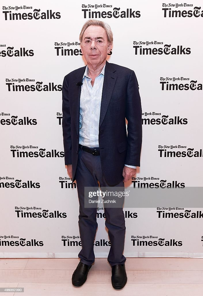 TimesTalks presents: An Evening with Andrew Lloyd Webber
