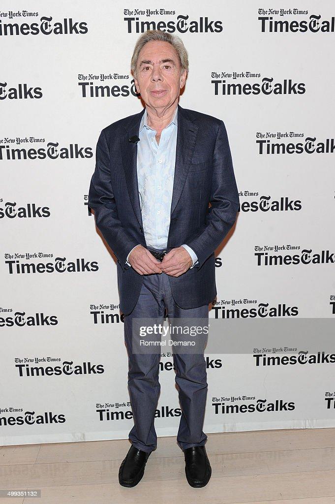 TimesTalks presents: An Evening with Andrew Lloyd Webber