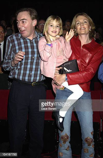 Andrew Lloyd Webber Wife Madeline Daughter Bella The Final Performance Of Andrew Lloyd Webber's 'Starlight Express' At The Apollo Victoria Theatre...