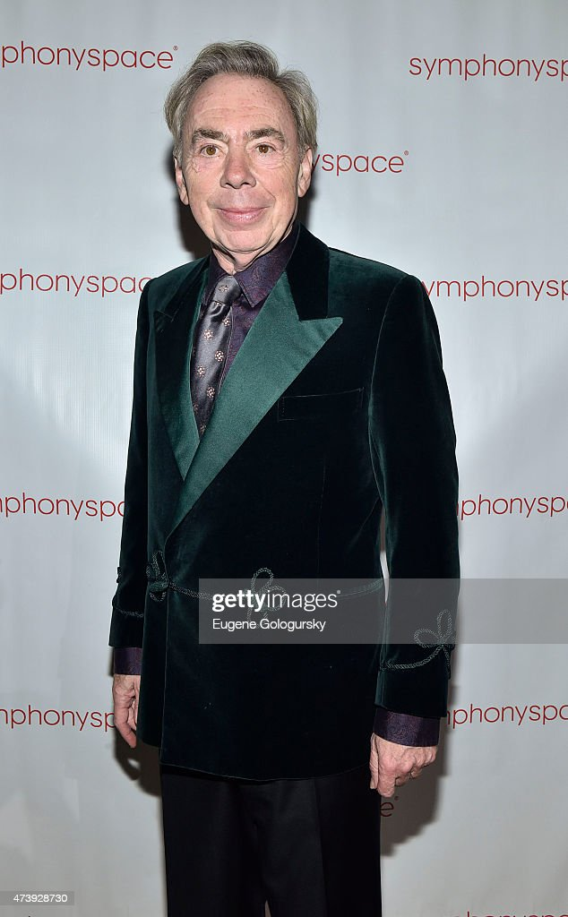 Andrew Lloyd Weber attends the 2015 Symphony Space Gala at Capitale on May 18, 2015 in New York City.