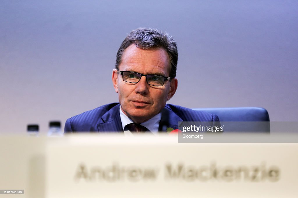 BHP Billiton Ltd. Chief Executive Officer Andrew Mackenzie Speaks At The Company's AGM