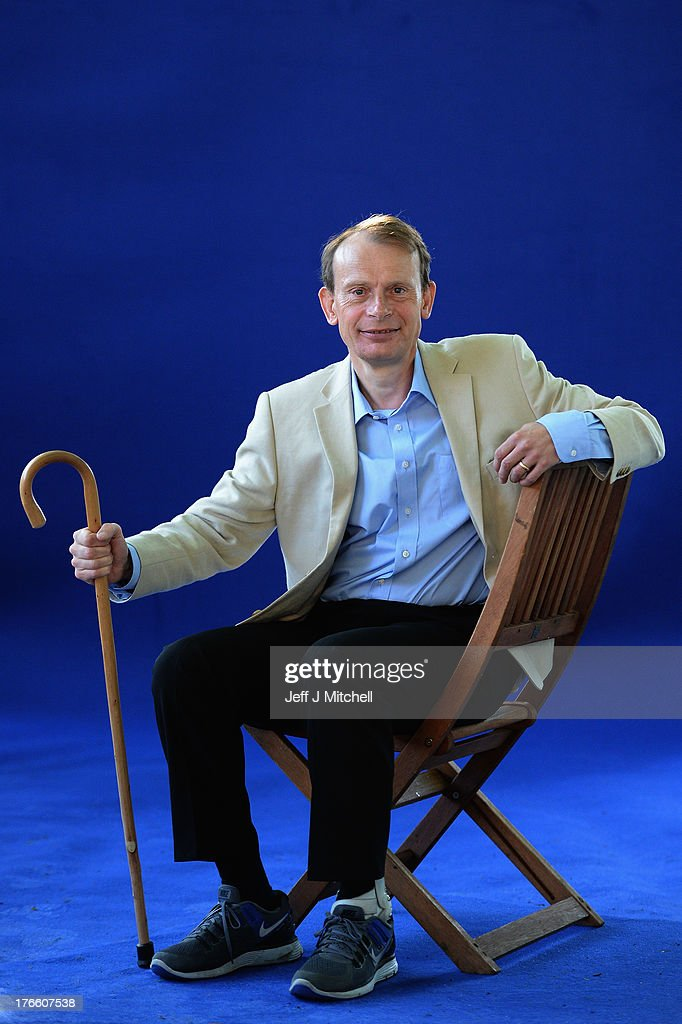 <a gi-track='captionPersonalityLinkClicked' href=/galleries/search?phrase=Andrew+Marr&family=editorial&specificpeople=236047 ng-click='$event.stopPropagation()'>Andrew Marr</a>, journalist and broadcaster appears for a portrait at the Edinburgh International Book festival on August 16, 2013 in Edinburgh, Scotland. The BBC presenter is making his first public appearance since suffering a stroke and will give a talk at the Book Festival to launch a revised version of one of his works.