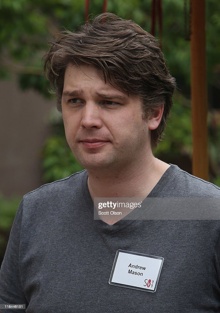Andrew Mason founder and CEO of Groupon attends the Allen Company Sun Valley Conference on July 7 2011 in Sun Valley Idaho The conference has been...