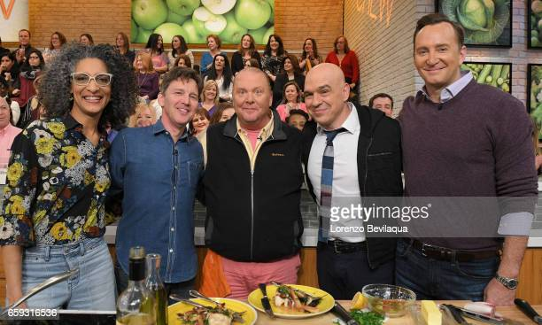 THE CHEW Andrew McCarthy and Nelly Furtado are the guests today Tuesday March 29 2017 on ABC's 'The Chew' 'The Chew' airs MONDAY FRIDAY on the ABC...