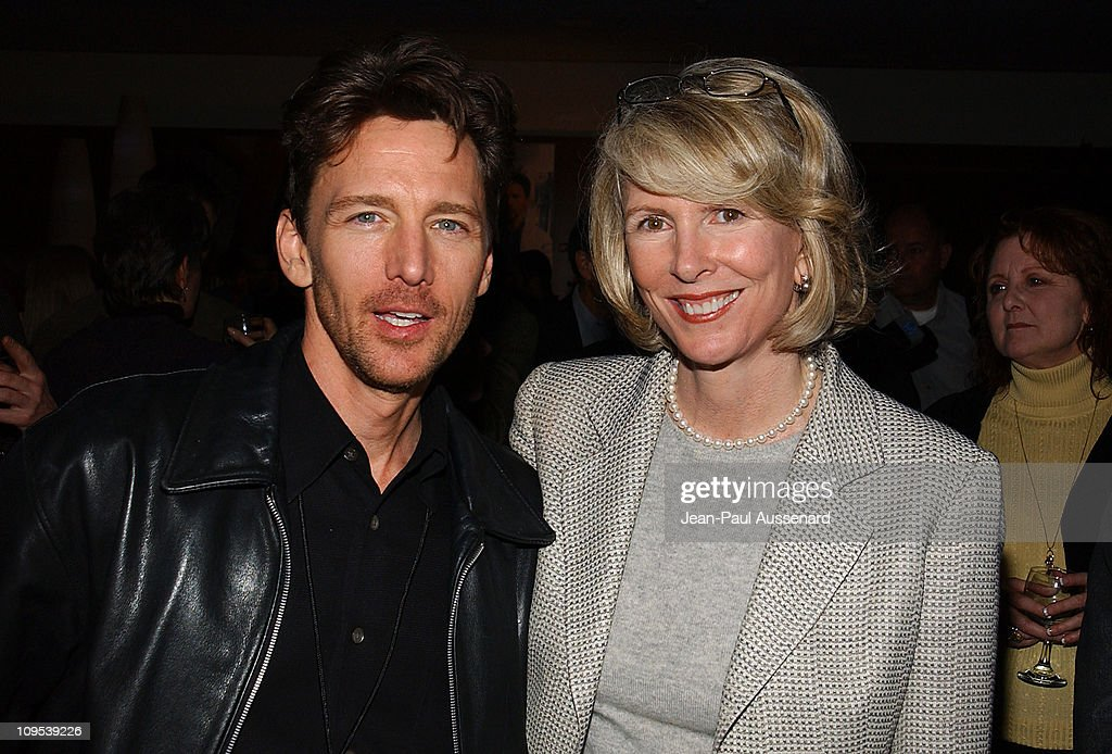 Andrew McCarthy and Susan Lyne during ABC AllStar Party at Astra West in West Hollywood California United States