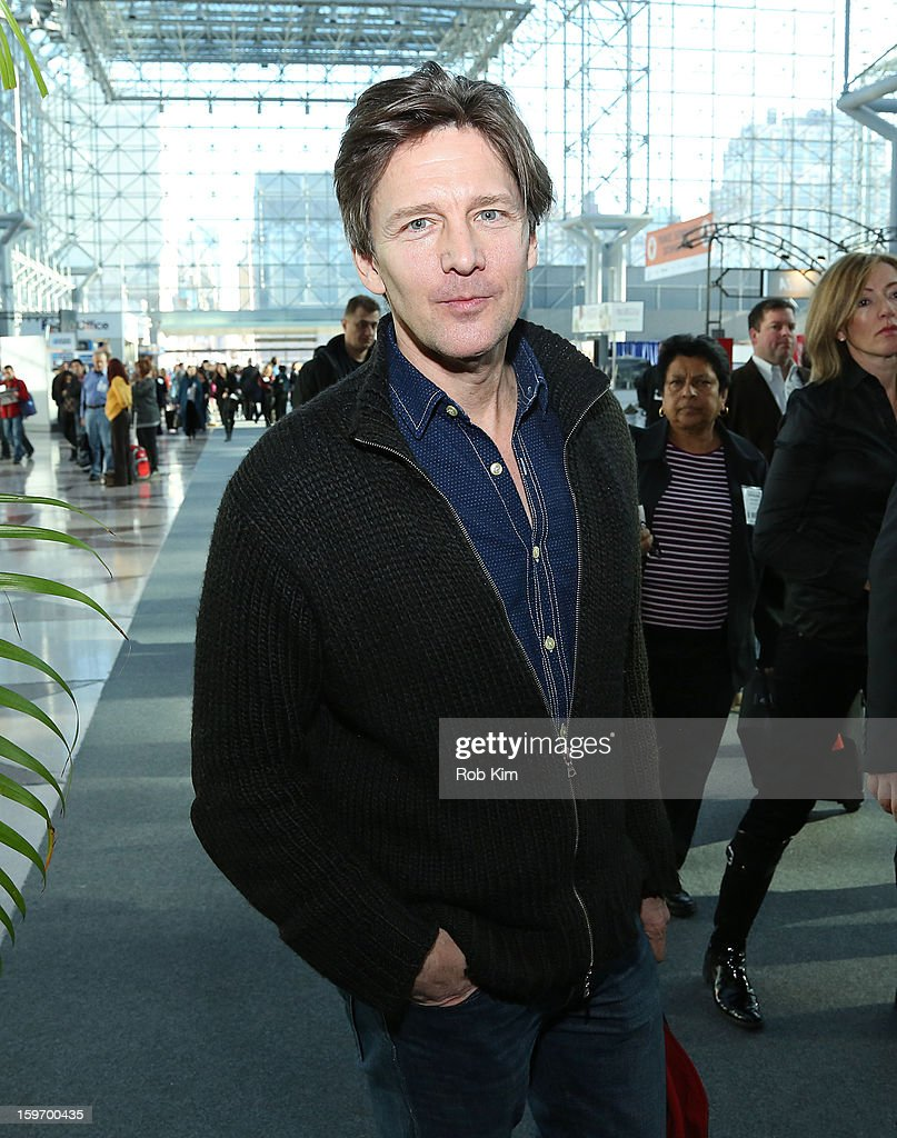 <a gi-track='captionPersonalityLinkClicked' href=/galleries/search?phrase=Andrew+McCarthy&family=editorial&specificpeople=226865 ng-click='$event.stopPropagation()'>Andrew McCarthy</a> attends The 10th Annual New York Times Travel Show Ribbon Cutting And Preview at Javits Center on January 18, 2013 in New York City.