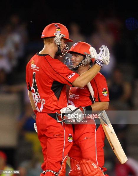 ... Bash League match between the Melbourne Renegades and the Sydney