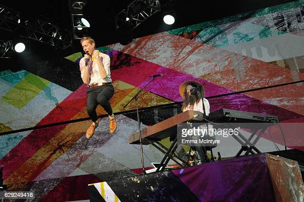 Andrew McMahon of Andrew McMahon in the Wilderness performs onstage 1067 KROQ Almost Acoustic Christmas 2016 Night 2 at The Forum on December 11 2016...