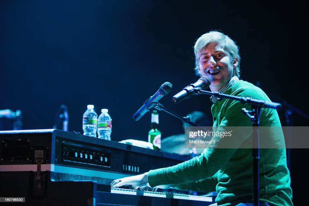 Andrew McMahon performs as the opening act for fun. at Paramount Theatre on February 5, 2013 in Seattle, Washington.