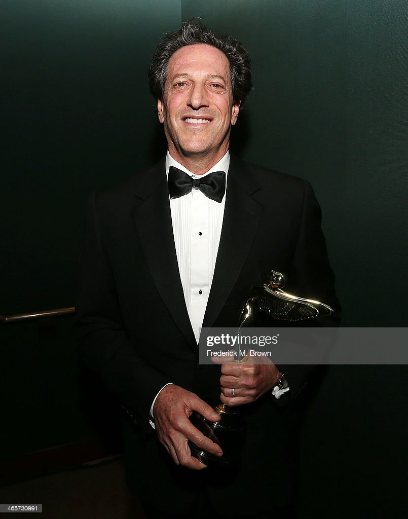 Andrew Millstein of Walt Disney Animation Studios is being honored during the 2014 International 3D and Advanced Imaging Society's Creative Arts Awards at the Steven J. Ross Theatre, Warner Bros. Studios on January 28, 2014 in Burbank, California.