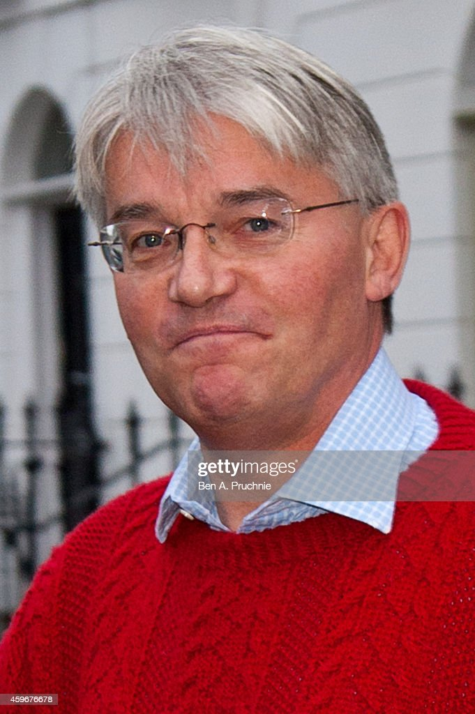 Andrew Mitchell departs his London home on November 28, 2014 in London, England. A judge ruled yesterday that Andrew Mitchell probably did call police officers 'plebs', as he ruled against the Tory MP in a High Court libel action.