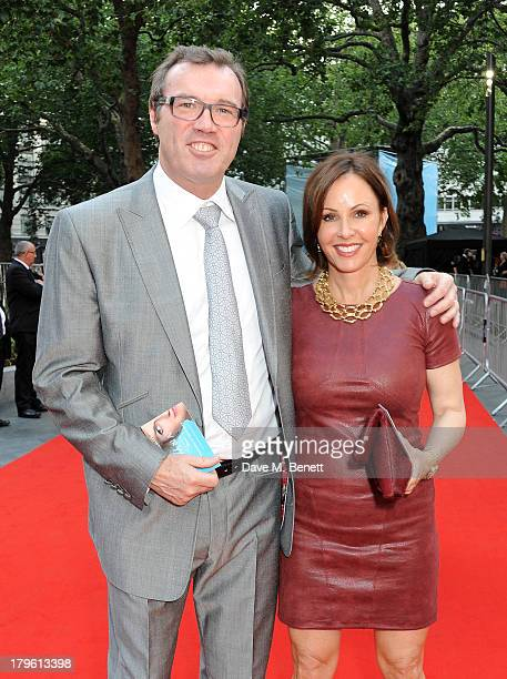 Andrew Morton attends the World Premiere of 'Diana' at Odeon Leicester Square on September 5 2013 in London England