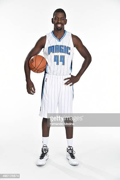 Andrew Nicholson of the Orlando Magic poses for a portrait during NBA Media Day on September 25 2015 at Amway Center in Orlando Florida NOTE TO USER...