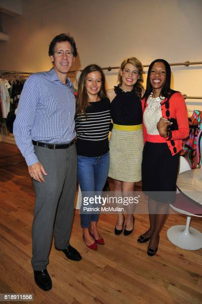 Andrew Oshrin Michelle Smith Julia Crowell and Tanya McEvoy attend Milly Spring Soiree to benefit March of Dimes New York Division at L'Atelier...