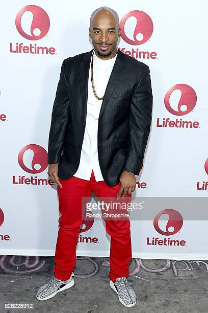 Andrew 'Penetration' Williams arrives to the live show and holiday party for 'Vivica's Black Magic' premiering January 4th at The Mint on December 6...