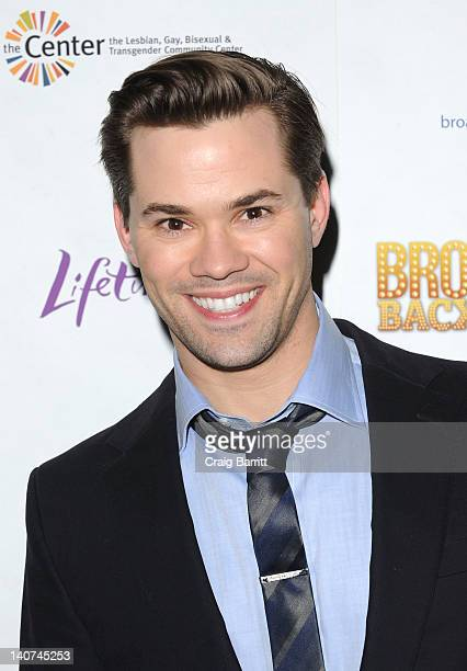 Andrew Rannells attends Broadway Backwards 7 at the Al Hirschfeld Theatre on March 5 2012 in New York City