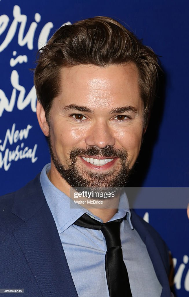 Andrew Rannells attends the Broadway Opening Night Performance of 'An American in Paris' at The Palace Theatre on April 12, 2015 in New York City.
